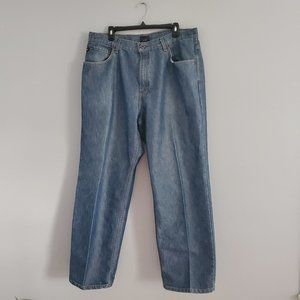 Tommy Men's Straight Blue Jeans 38x32